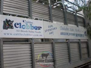 Cattle Clobber Sign